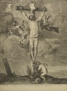 CRUCIFIXION [Václav Hollar (1607-1677) Anthonis van Dyck (1599-1641)]