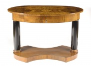 OVAL TABLE BIEDERMEIER []