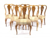 SET OF SIX CHAIRS []
