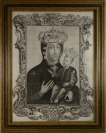 Copperplate with crowned Virgin Mary []