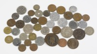 Set of coins and tokens 44 pcs []