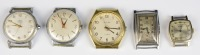 Set of 5 wrist watches []