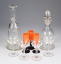 Set of beverage glass []