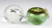 Two paper weights []