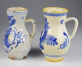 Two folk jugs []