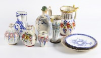 Set of folk ceramics - 10 pcs []