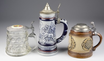 Three tankards