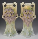 A pair of vases []
