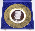 Plate with a portrait of T. G. Masaryk []