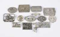 Collection of brooches - 14 pieces []