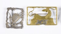 Pair of brooches []