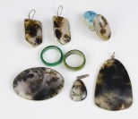 Set of resin jewellery []