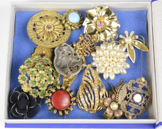 Collection brooches