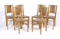 Table and six chairs []