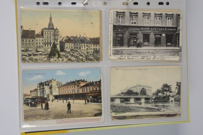 Collection of postcards: Brno before 1919 - 11 pieces.