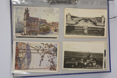 Collection of postcards: Brno 1919-1939 - 14 pieces