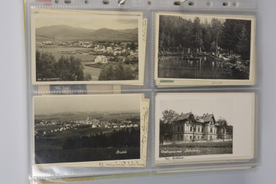 Collection of postcards: northern and central Moravia 1919-1939 - 23 pieces