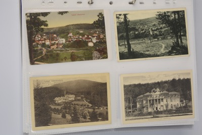 Collection of postcards: eastern Moravia 1919-1939 - 27 pieces
