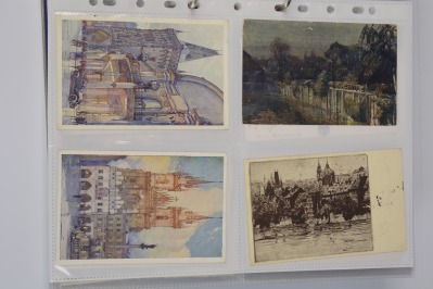Collection of artistic postcards: Prague, 1919-1939 - 14 pieces