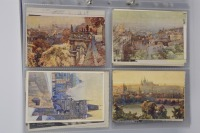 Collection of artistic postcards: Prague, 1919-1939 - 14 pieces []