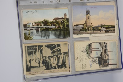 Collection of postcards: Central Bohemia before 1919 - 9 pieces