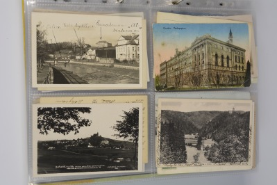 Collection of postcards: Bohemia 1919-1939 - 16 pieces