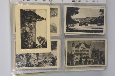 Collection of postcards: western and northwestern Bohemia 1919-1939 - 28 pieces