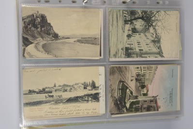 Collection of postcards: Slovakia, Hungary, Bukovina, The Adriatic before 1919 and Carpathian Ruthenia 1919-1939 - 14 pieces