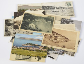 Collection of postcards: Topography of the Balkans - 33 pieces