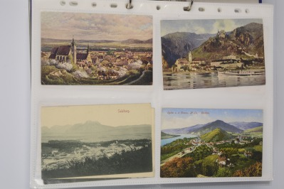 Collection of postcards: Austria before 1919 - 16 pieces