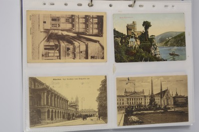 Collection of postcards: Germany before 1919 - 18 pieces