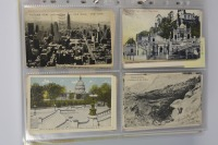 Collection of postcards: South America before 1910 and U.S.A. 1919-1939 - 13 pieces []