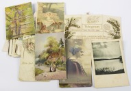 Collection of various gratulatory postcards - 45 pieces []