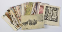 Collection of postcards: artistic reproductions - 80 pieces []