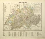 Map of Switzerland [Friedrich Handtke (1815-1879) H. Müller]