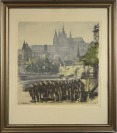 View of Prague Castle [Vladislav Röhling (1878-1949)]