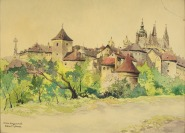 Prague Castle [Karel Toman (1888-?)]