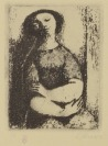 Poverty, Boy, Woman and Head of Villon [Ludmila Jiřincová (1912-1994)]