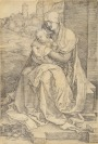 Madonna with Child by the Wall [Albrecht Dürer (1471-1528)]