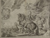 Four Copperplates from the Riding School of William Cavendish [podle Abrahama van Diepenbeeck (1596-1675)]