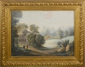 View of a Landscape with a River and Shephards [F. Fried]