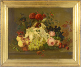 Still Life with Flowers and Fruits [Unknown author]