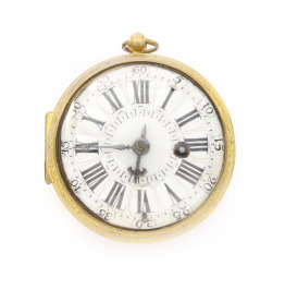 Pocket watch verge fusee