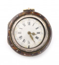 Silver pocket watch with two outer cases []