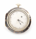 Silver pocket watch in two outer cases []
