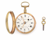 Pocket watch with miniature painting []