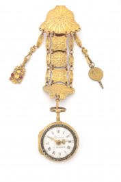 Pocket watch with a chatelaine