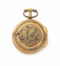 Pocket watch with a chatelaine []