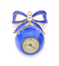 Silver pendant watch with enamels []
