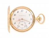 Gold pocket watch Max-Chronometer []